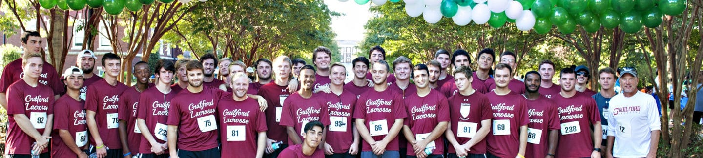 Guilford Team Gives Back at Greensboro Run/Walk for Autism